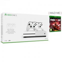 Microsoft Xbox One S 1TB + 2nd Controller + NBA 2k20
